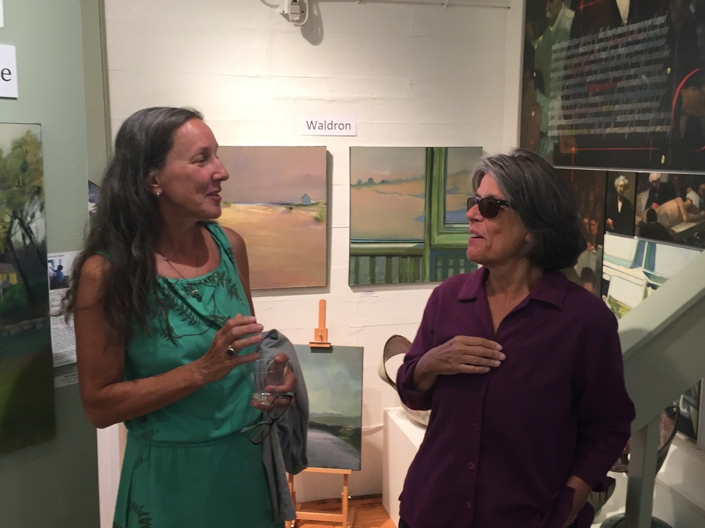 Meet artist Jayne Adams and Jan Waldron!