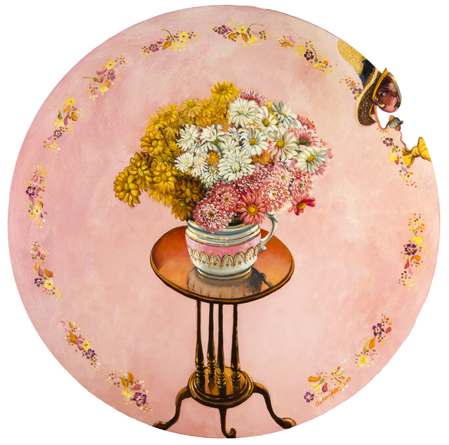 , 'A Pink Decorative Picture ,' 2013, Chris Beetles Gallery