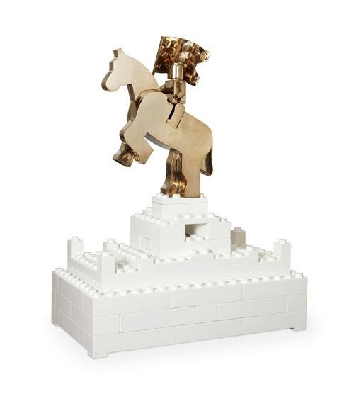 , 'Cavallo e cavaliere,' 2012, ABC-ARTE