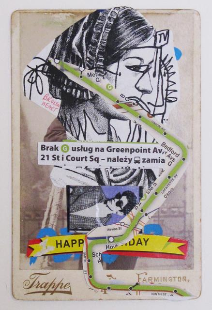, 'Broken Heart on the G Line,' 2014, Wilding Cran Gallery