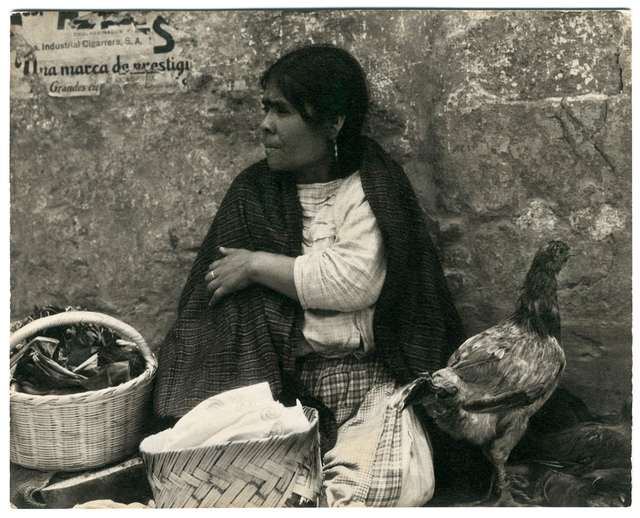 , 'Woman with Hen, Tenanting, Mexico,' 1933, Charles Isaacs Photographs, Inc