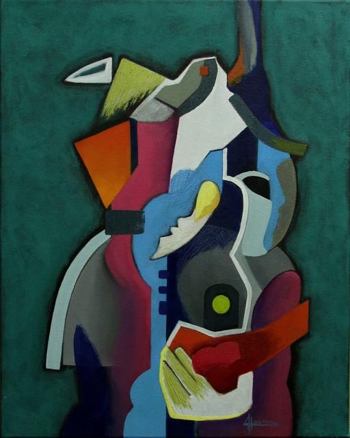 , 'A Bird and a Rose,' , Art Acacia