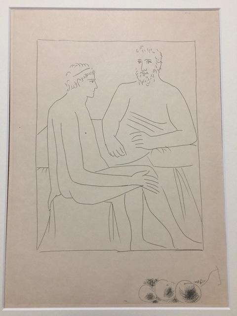 """Pablo Picasso, 'Numa suit les Cours de Pythagore - From """"Les Métamorphoses d'Ovide""""', 1931, Wallector"""