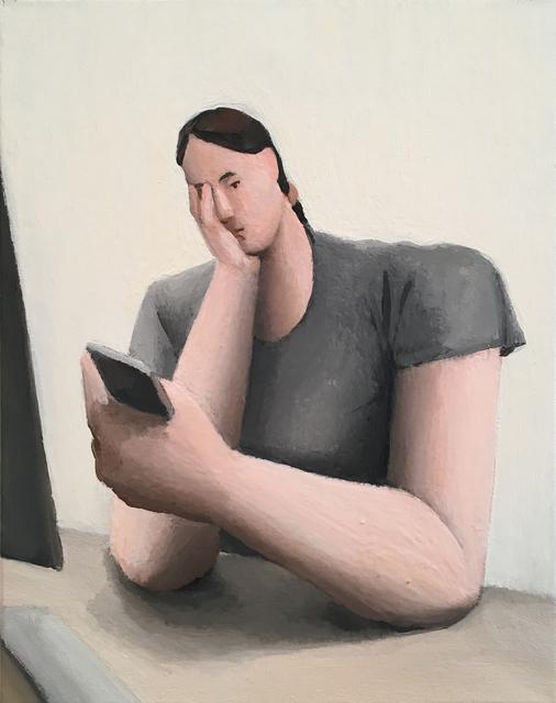 Tony Toscani, 'Anxiety at Work study', 2018, Massey Klein Gallery
