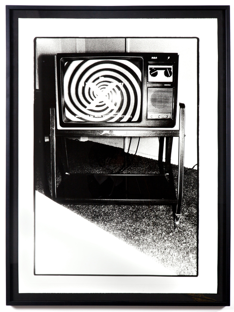 , 'THE LATE NIGHT MOVIE ON TV: JUNE 10, 1978 @ 1:20 TO 1:27AM: STERNS MOTEL IN VENICE, CA,' 1978, Kohn Gallery