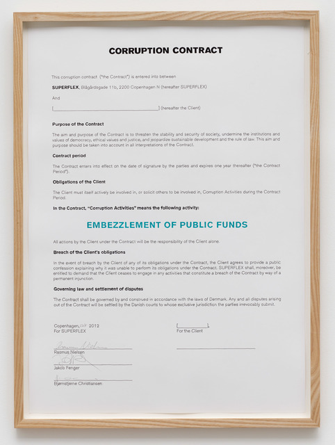 , 'Corruption Contract/Embezzlement of Public Funds,' 2012, von Bartha
