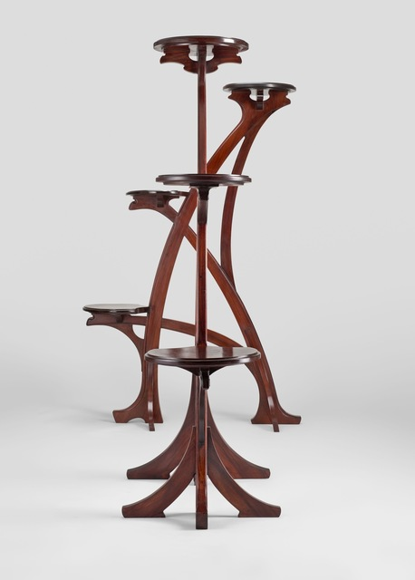 , 'Pair of large stands,' 1901, Yves Macaux