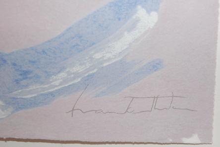 Helen Frankenthaler, 'Aerie', 2009, Print, Screenprint in colors, on wove paper, the full sheet, Puccio Fine Art