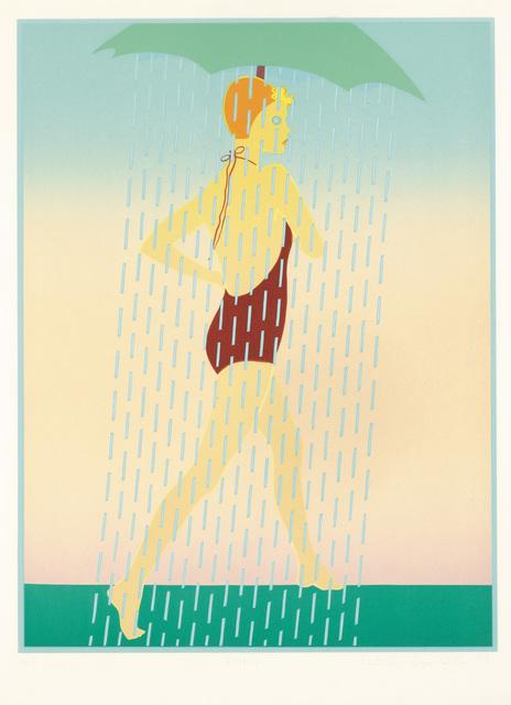 "Kiki Kogelnik, '""Rainy""', 1977, Galerie Bei Der Albertina Zetter"