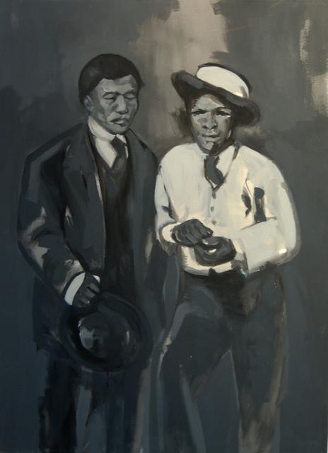 , 'Two Men,' 2013, Gallery MOMO
