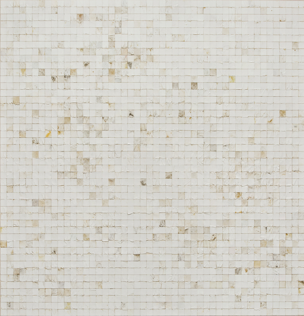 ", '""White Squares"",' 2017, Scott White Contemporary Art"