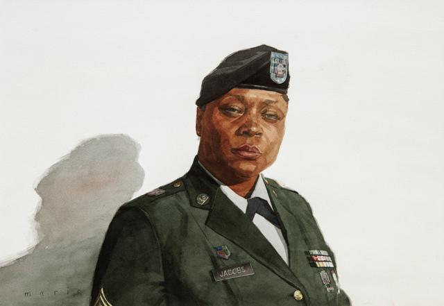 , 'Sergeant Jacobs,' 2012, Bernarducci Gallery