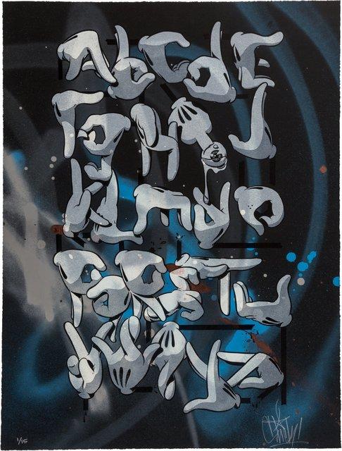 OG Slick, 'Hand Alphabet-Black Edition', 2015, Heritage Auctions