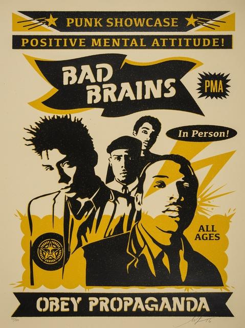 Shepard Fairey (OBEY), 'Bad Brains Punk Showcase (Rock for Light)', 2016, Forum Auctions