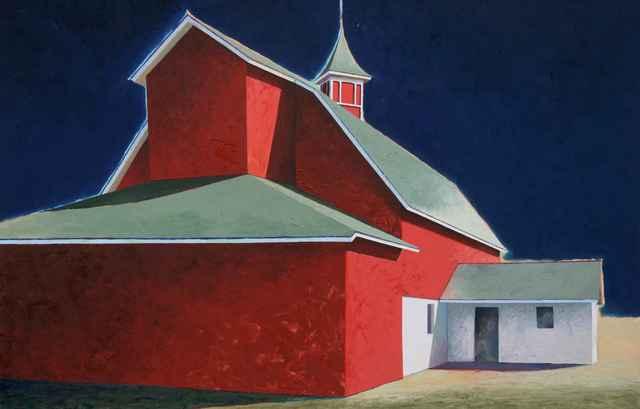 , 'Stanton's Barn,' , Sorrel Sky Gallery