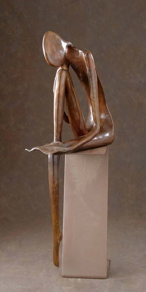 , 'Girl Reminiscing,' , CODA Gallery