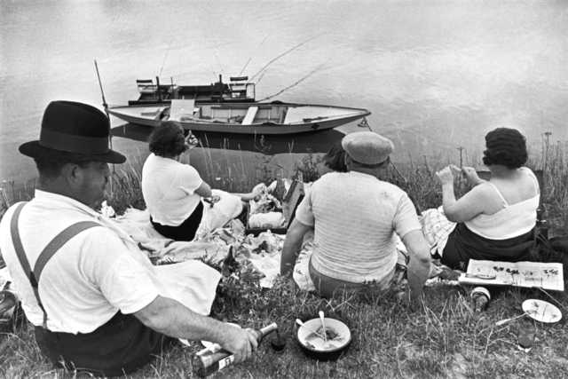, 'Picnic on the Banks of the Marne,' 1938, Holden Luntz Gallery