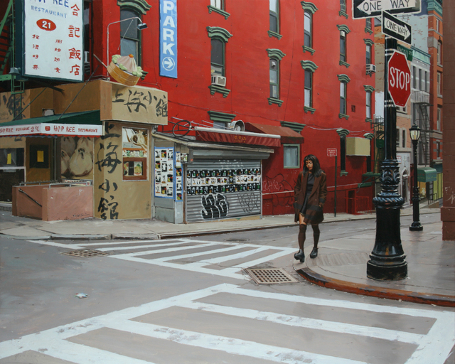, 'In China Town,' 2015, Abend Gallery