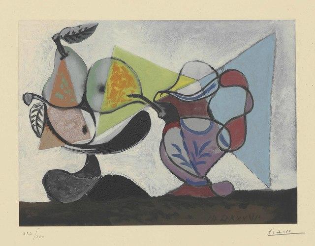 Pablo Picasso, 'Nature morte aux poires et au pichet', circa 1960, Christie's