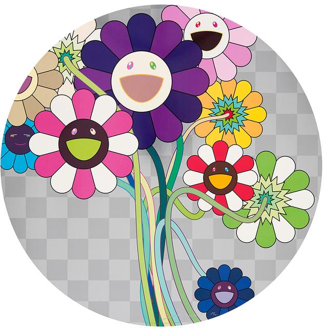 Takashi Murakami, 'Purple Flower in a Bouquet', Eternity Gallery