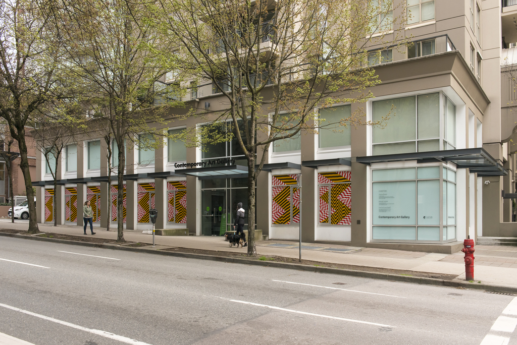 Rolande Souliere, installation view of 'Frequent Stopping V', Contemporary Art Gallery, Vancouver, April 5 – September 22, 2019. Photography by SITE Photography