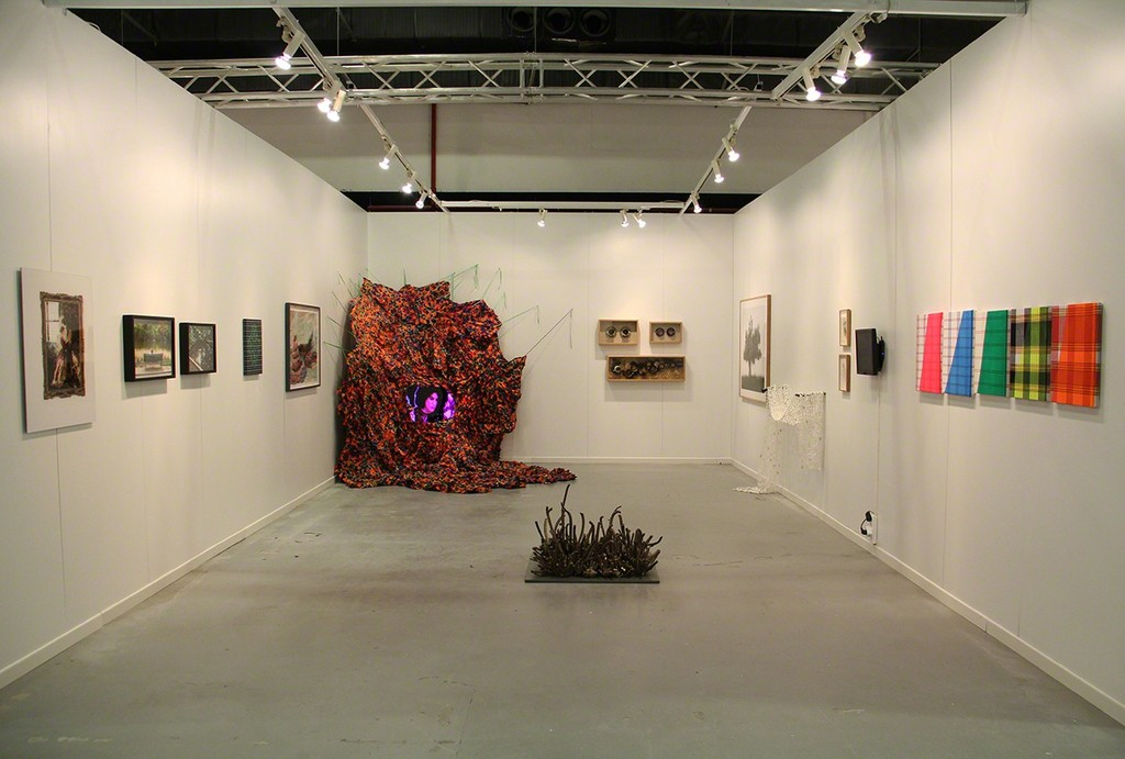 Installation View, Parasite at Contemporary Istanbul 2015, Booth B1-311