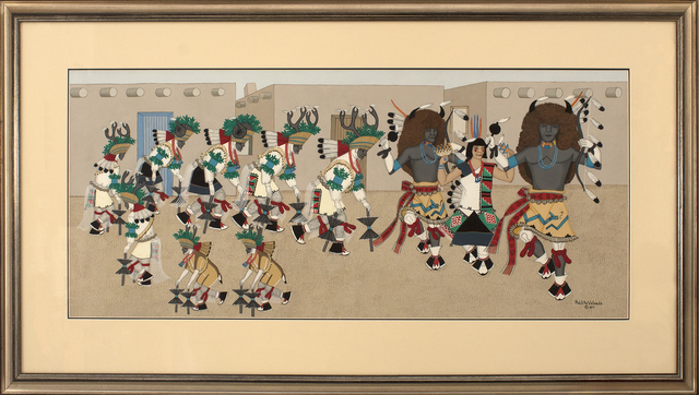 , 'Buffalo and Deer Dance,' , Blue Rain Gallery