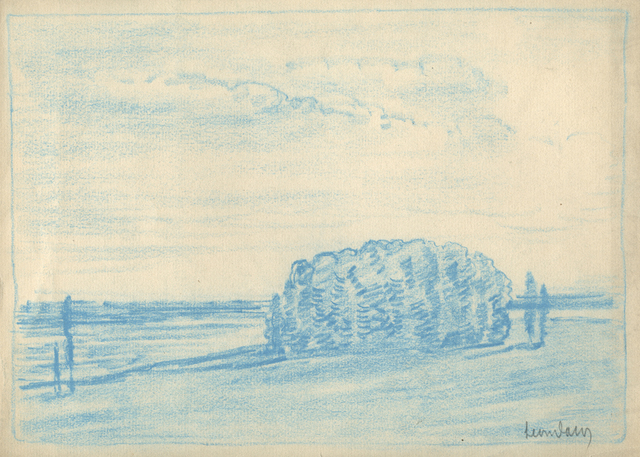 , 'A Grove of Trees by the Water,' ca. 1905, Sullivan Goss