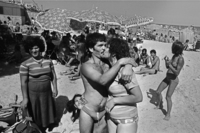 , 'On the beach at Mondello, Palermo,' 1982, ILEX Gallery