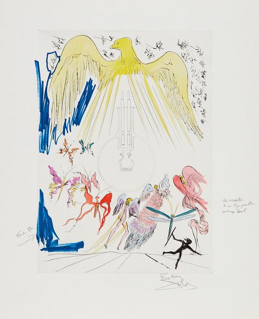 Salvador Dalí, 'L'Ampoule à incandescence (The Electric Lightbulb), for Hommage à Leonardo da Vinci (American Inventions)', 1975, Phillips