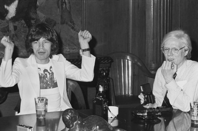, 'Andy with Mick 860 Broadway,' 1977, Izolyatsia