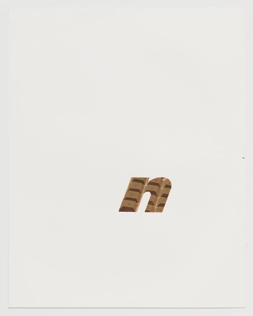 , 'Chocolate mask (Nikon),' 2017, Koenig & Clinton