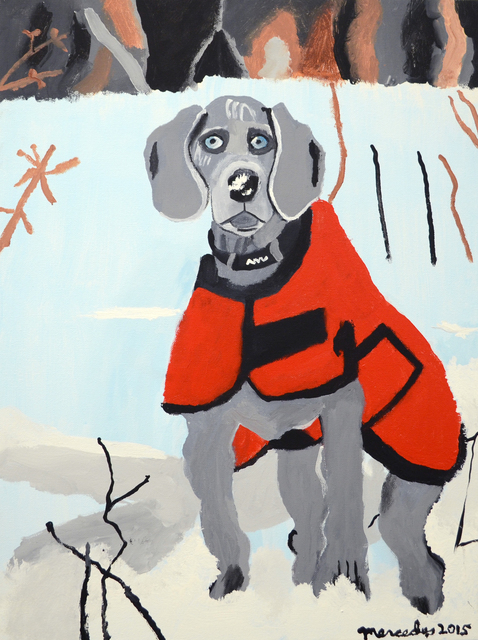 , 'Winter Weimaraner,' 2015, Fountain House Gallery
