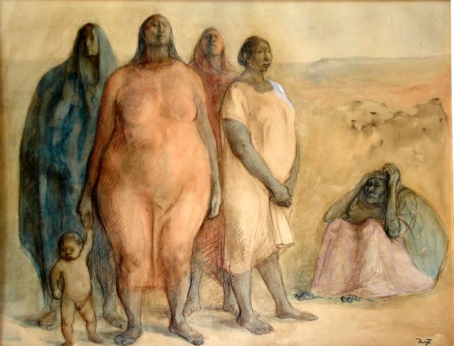, 'Las Tres Generaciones,' 1968, Stern Fine Art