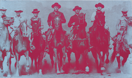 Russell Young, 'Magnificent Seven,' 2007, Phillips: New Now (December 2016)