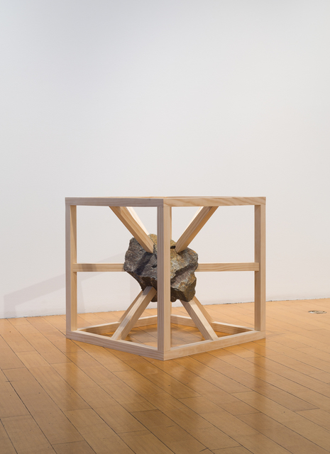 Mike Womack, 'Fragment 1', 2018, Sculpture, Wood and rock, David B. Smith Gallery