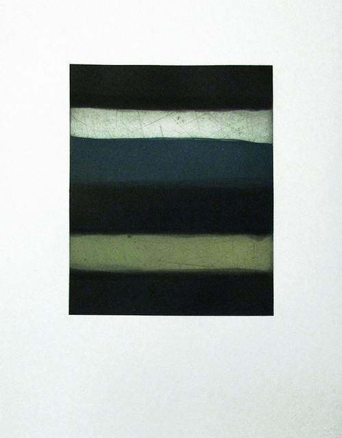 , 'Landline Blue,' 2015, Richard Levy Gallery