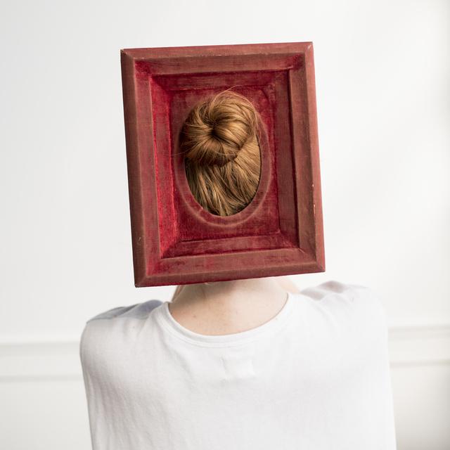, 'Red Velvet Frame,' 2016, Robert Mann Gallery