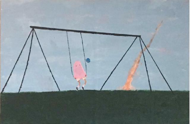 , 'Falling Asleep on Swings,' 2017, Woodward Gallery