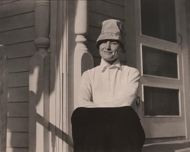 , 'Georgia O'Keeffe, lake George, NY,' 1924, Robert Klein Gallery