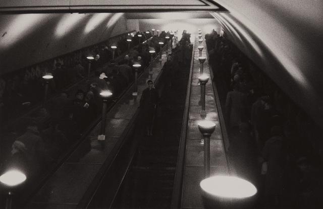 Sergio Larrain, 'Tottenham Court Road, underground station, London, England', 1959, Phillips
