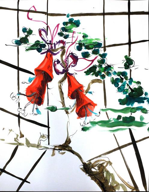 , 'Sans titre (D'après Jean-Baptiste Pillement),' 2014, gdm