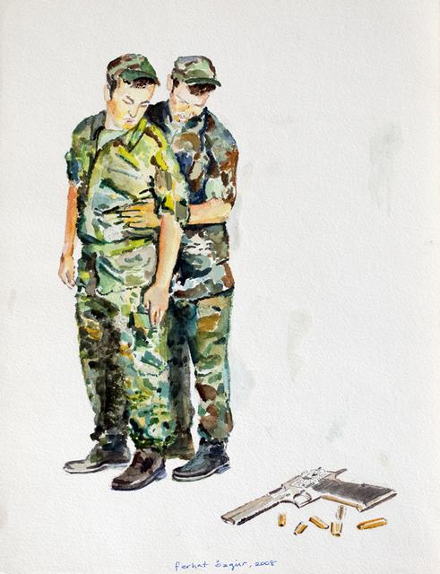 , 'War Memory 2,' 2008, Deborah Colton Gallery