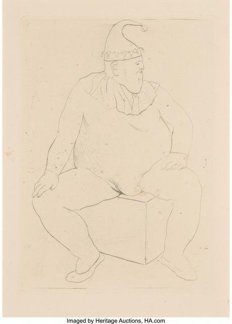 Pablo Picasso, 'Saltimbanque au Repos (The Acrobat at rest)', 1905, Heritage Auctions