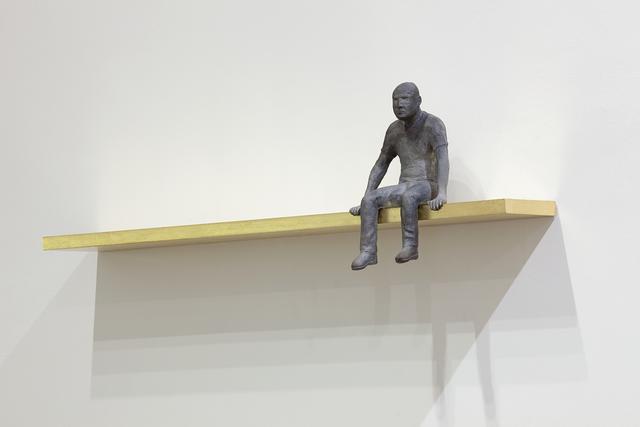 , 'Maxwell seated,' 2012, Fernando Pradilla/El Museo