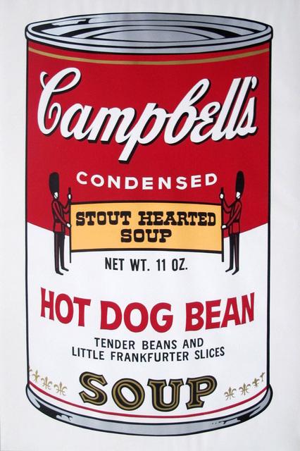 , 'CAMPBELL'S SOUP HOT DOG BEAN,' 1968, Corridor Contemporary