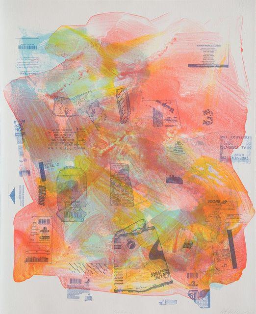 Mary Weatherford, 'California', 2012, Gagosian