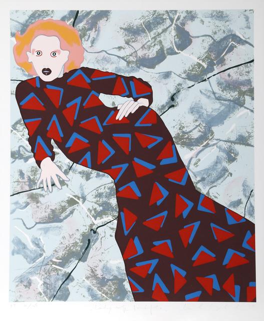 Kiki Kogelnik, 'Lady and Triangles', 1979, Print, Serigraph, RoGallery
