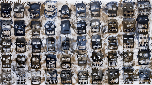 , 'Concrete Jungle Corporate Choir,' 2016, Galleri Duerr