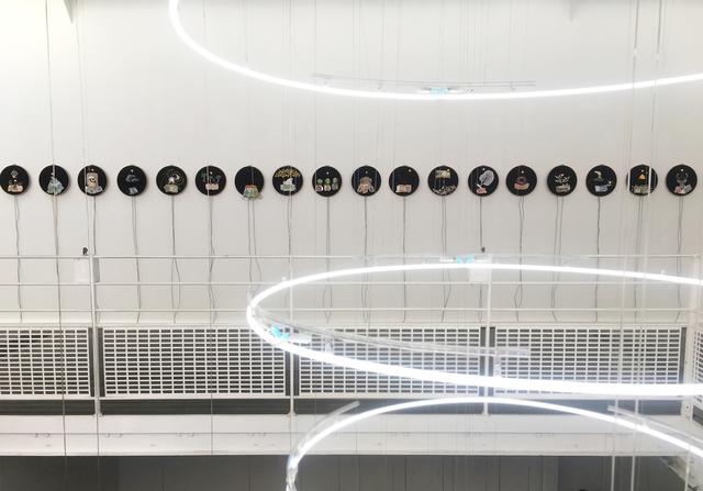 , 'Série Les Tambours apotropaïques ou La machine à conjurer la fin d'un monde,' 1994-2018, Galerie Les filles du calvaire